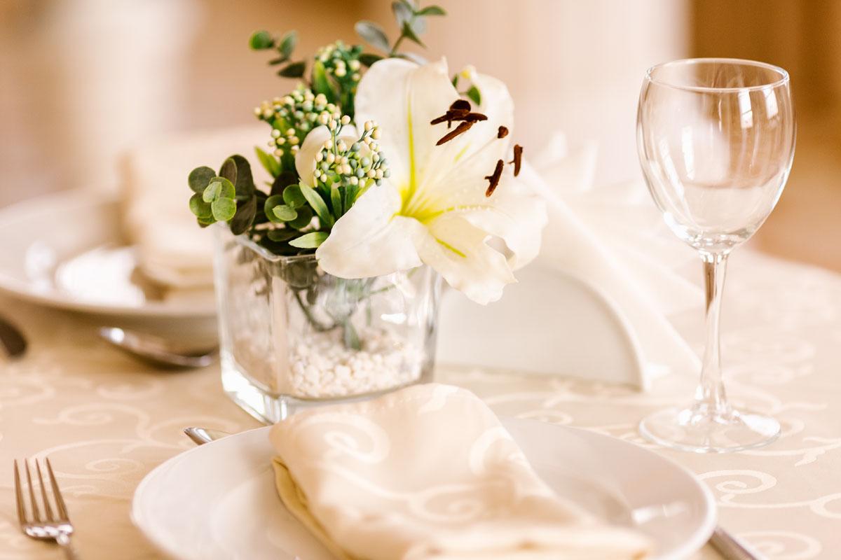 Restaurant Blumengesteck