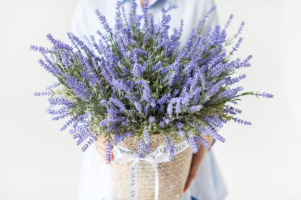 Lavendel von Realtouch Blumen