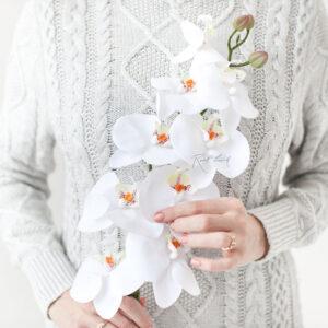 Künstliche Orchidee Realtouch-Blumen