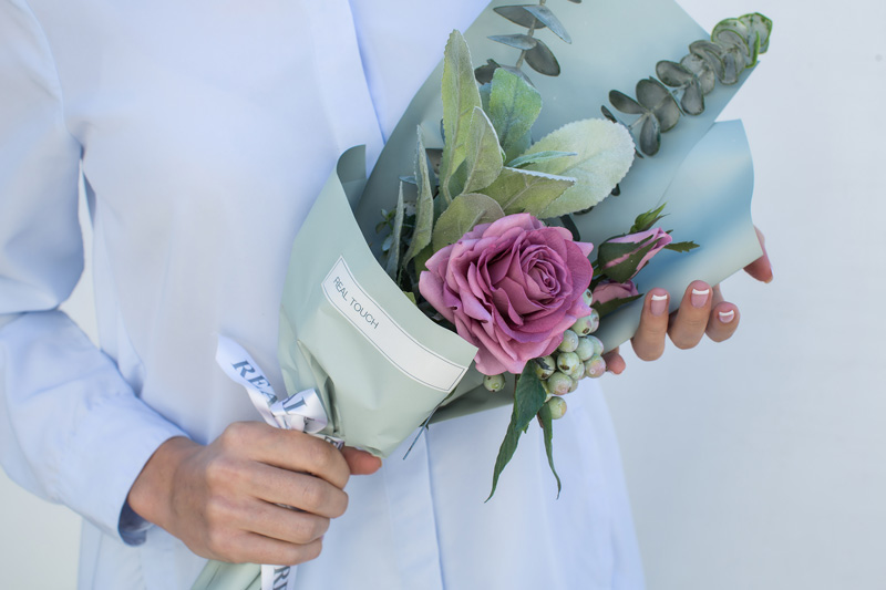 Realtouch-Blumen